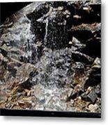 Window Waterfall Metal Print by Dan Sproul