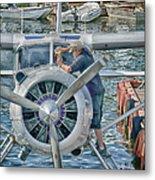 Windshield Wiper Metal Print by Trever Miller