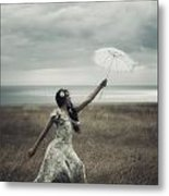 Windy Metal Print by Joana Kruse