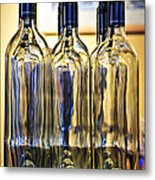 Wine Bottles Metal Print by Elena Elisseeva