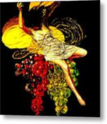 Wine Maid Prosecco Poster Metal Print by Jerry Schwehm