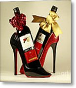 Wine Party Metal Print by Inspired Nature Photography Fine Art Photography