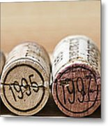 Wine Vintages Metal Print by Frank Tschakert