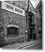 Wine Warehouse Metal Print by Heather Applegate