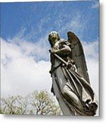 Winged Angel Metal Print by Jennifer Ancker