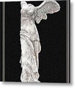Winged Victory - Nike Of Samothrace Metal Print by Jerrett Dornbusch