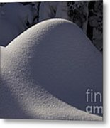 Winter Abstract Metal Print by Sean Griffin