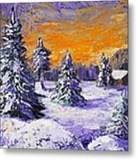 Winter Outlook Metal Print by Anastasiya Malakhova