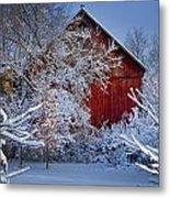 Winter Warmth  Metal Print by Jeff Klingler