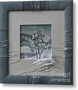 Wintry Morning Metal Print by Yakubouskaya Olga