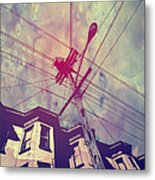 Wires Metal Print by Giuseppe Cristiano