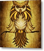 Wise Owl Metal Print by Brenda Bryant