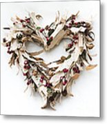With Love Metal Print by Anne Gilbert