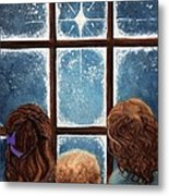 Wonder Of The Night Metal Print by Janine Riley