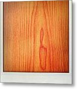 Wood Texture Metal Print by Les Cunliffe