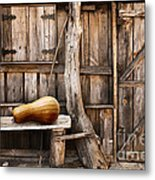Wooden Shack Metal Print by Carlos Caetano