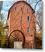Wood's Grist Mill In Northwest Indiana Metal Print by Paul Velgos