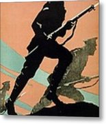 World War I 1914-1918 British Army Recruitment Poster 1917 Your Chums Are Fighting Metal Print by Anonymous