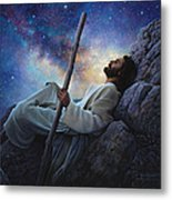 Worlds Without End Metal Print by Greg Olsen