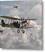 Ww1 Re8 Aircraft Metal Print by Pat Speirs
