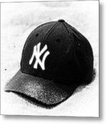 Yankees Metal Print by John Rizzuto