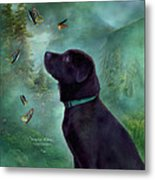 Young Lab And Buttys Metal Print by Carol Cavalaris
