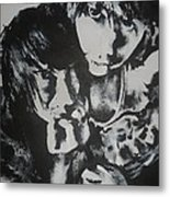 Young Lovers Metal Print by Cherise Foster