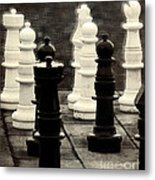 Your Move Metal Print by Colleen Kammerer