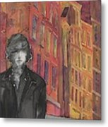 Z And The City 2 Metal Print by Carolyn Doe