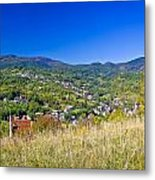Zagreb Hillside Green Zone Nature Metal Print by Brch Photography