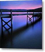 Zen At Lake Waramaug Metal Print by Thomas Schoeller