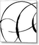 Zen Circles 3 Metal Print by Hakon Soreide