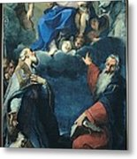 Zoboli Giacomo, Madonna And Child Metal Print by Everett