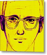 Zodiac Killer With Sign 20130213m68 Metal Print by Wingsdomain Art and Photography