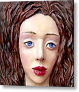 Blue-eyed Girl Metal Print by Yelena Rubin