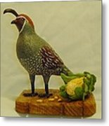 Gambel's Quail  Metal Print by Russell Ellingsworth