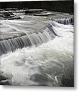 0804-0113 Six Finger Falls 2 Metal Print by Randy Forrester