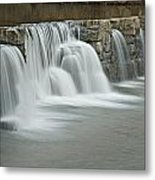0902-7009 Natural Dam 2 Metal Print by Randy Forrester