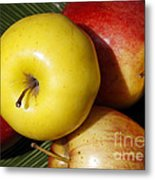 An Apple A Day Metal Print by Denise Pohl