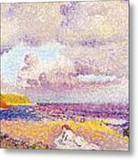 An Incoming Storm Metal Print by Henri-Edmond Cross