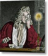Anton Van Leeuwenhoek, Dutch Metal Print by Science Source