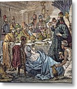 Belshazzars Feast Metal Print by Granger