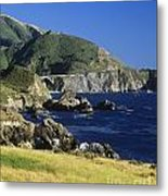 Big-sur-t1-3 Metal Print by Craig Lovell
