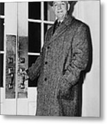 Byron Price 1891-1981 Director Of Metal Print by Everett