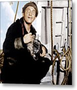 Captains Courageous, Spencer Tracy, 1937 Metal Print by Everett