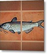 Catfish Metal Print by Andrew Drozdowicz