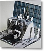 Cathedreal Reconstruction Metal Print by Alfred Ng