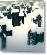 Cemetery Metal Print by Joana Kruse