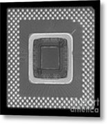Central Processor Metal Print by Ted Kinsman