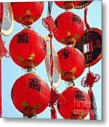 Chinese New Year Decorations Metal Print by Yali Shi